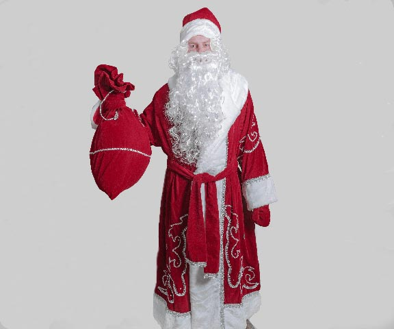 Костюм Деда Мороза Традиционный.