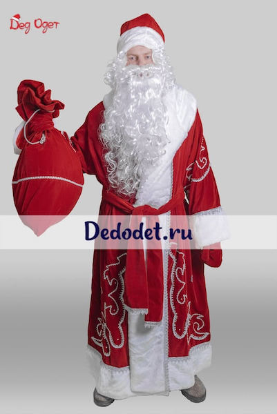 Костюм Деда Мороза Традиционный в Казани
