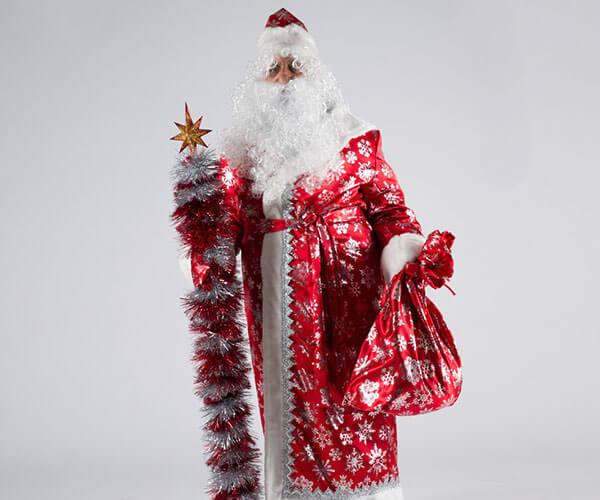Костюм Деда Мороза Сатин в Казани