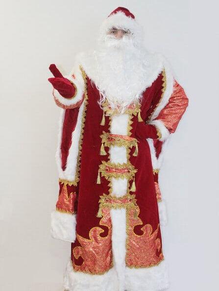 Костюм Деда Мороза Царский в Казани